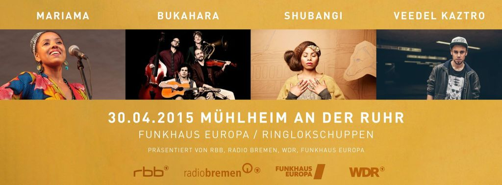 funkhauseurope shubangi flyer